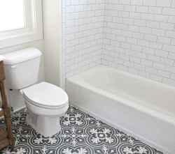 39 Awesome Farmhouse Bathroom Tile Floor Decor Ideas
