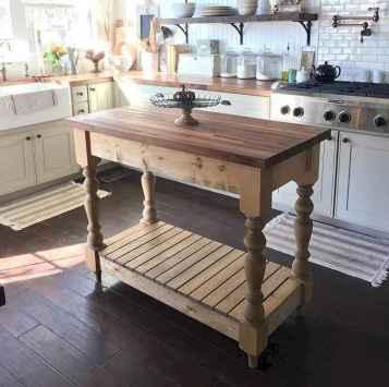 40 Functional Farmhouse Kitchen Island Design Ideas