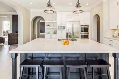 40 Incredible Farmhouse Gray Kitchen Cabinet Design Ideas
