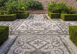 44 Beautiful DIY Mosaic Garden Path Decorations For Your Landscape Inspiration