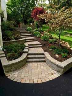 45 Stunning Front Yard Garden Pathways Landscaping Ideas