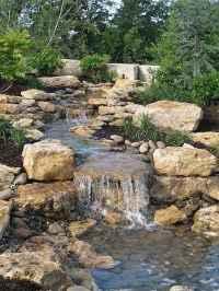 45 Unique Backyard Garden Water Feature Landscaping Ideas