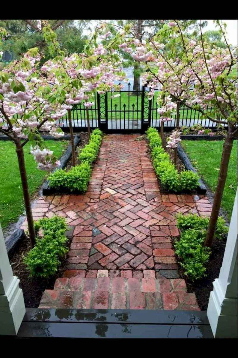 50 Stunning Front Yard Garden Pathways Landscaping Ideas