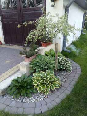 51 Awesome Front Yard Rock Garden Landscaping Ideas