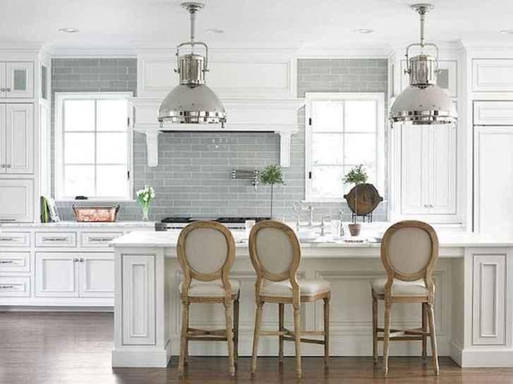 51 Incredible Farmhouse Gray Kitchen Cabinet Design Ideas