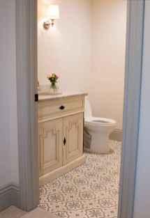 52 Awesome Farmhouse Bathroom Tile Floor Decor Ideas