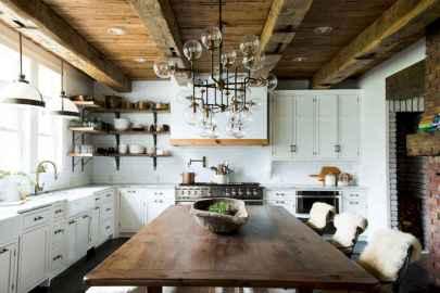 53 Incredible Farmhouse Gray Kitchen Cabinet Design Ideas