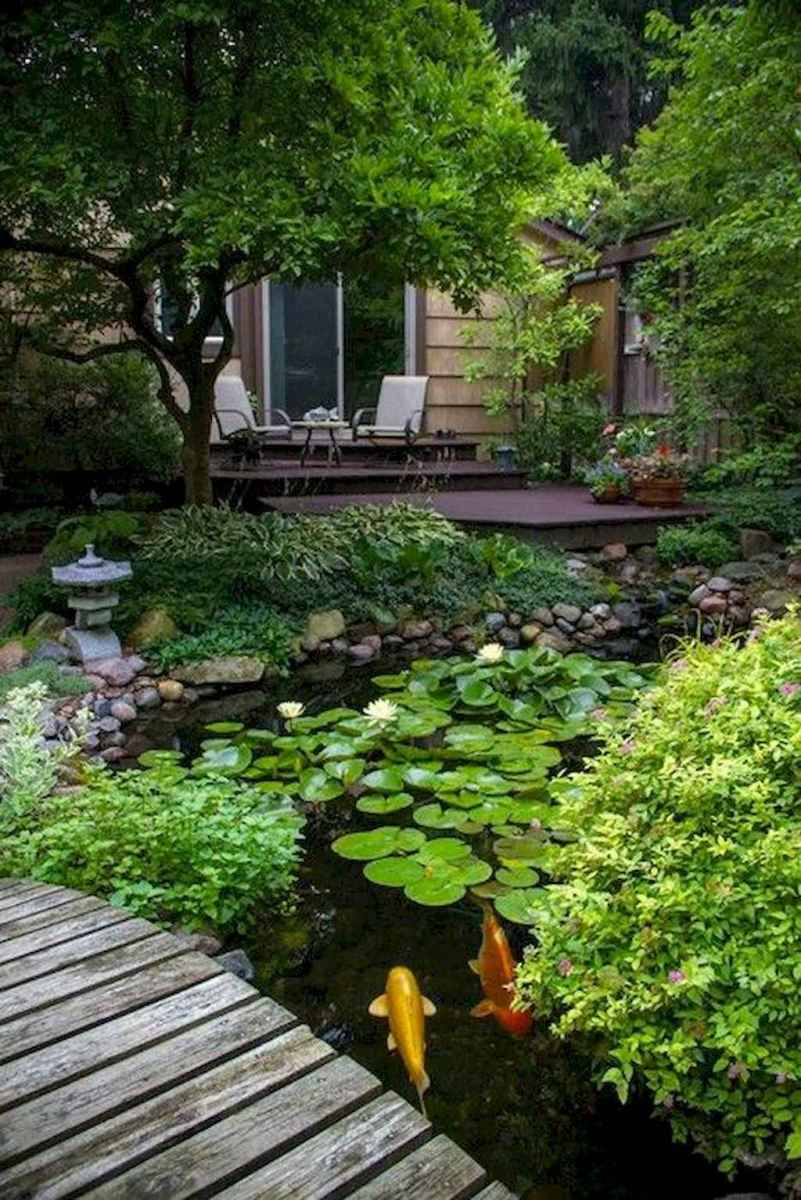 53 Unique Backyard Garden Water Feature Landscaping Ideas