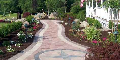 54 Fabulous Garden Path and Walkway for Front and Backyard Ideas