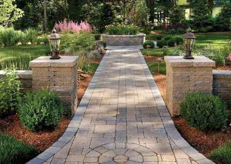 55 Fabulous Garden Path and Walkway for Front and Backyard Ideas