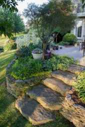 56 Awesome Front Yard Rock Garden Landscaping Ideas