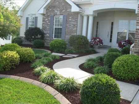 58 Stunning Front Yard Garden Pathways Landscaping Ideas