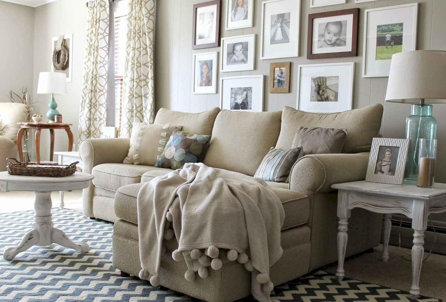 60 Cozy Farmhouse Style Living Room Decor Ideas