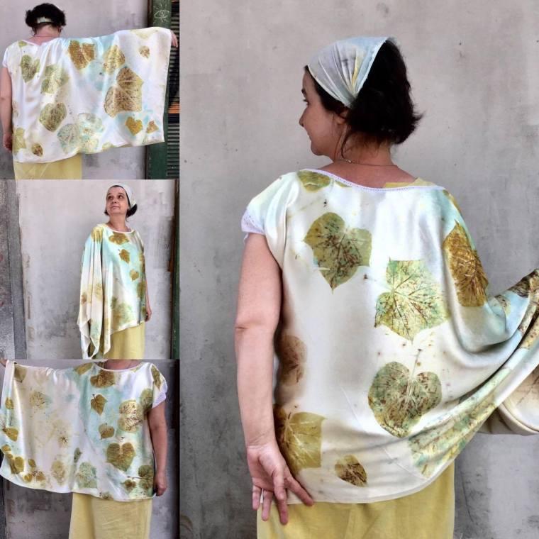 Yaroslava Bykova eco blouse