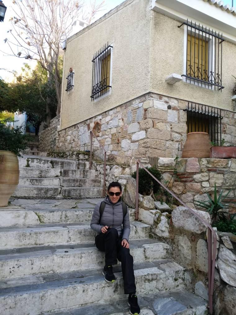 Афинах с картой уличного искусства
