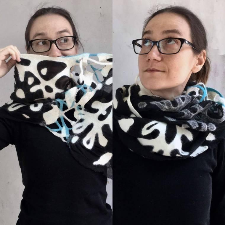 Yaroslava Bykova Scarf 1