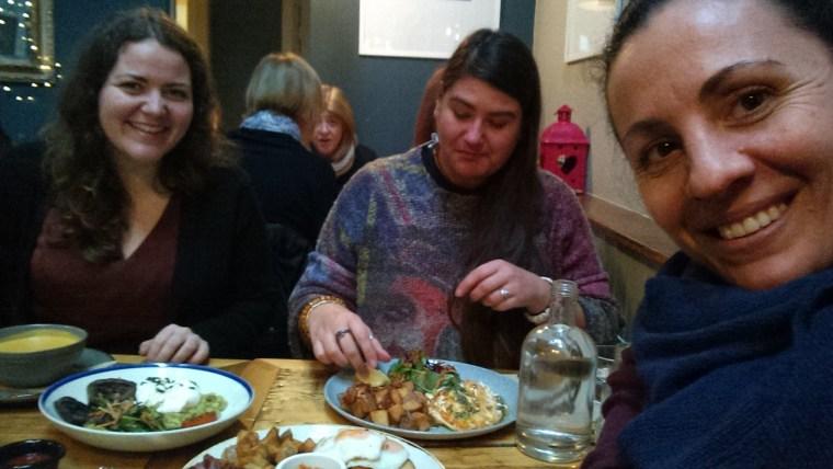 breakfast with bulgarian volunteers in galway