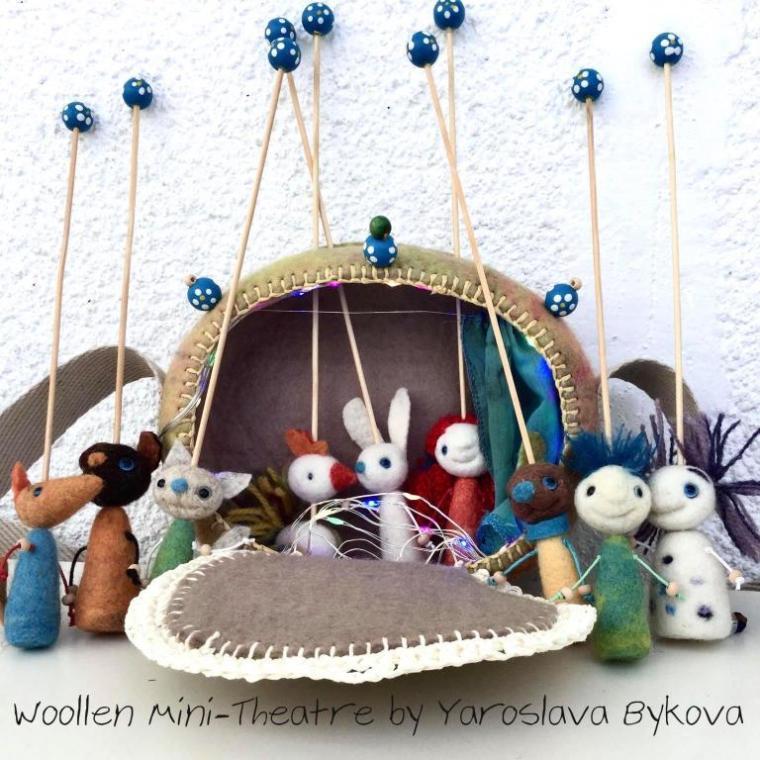 woolen mini theater by yaroslava bykova 2