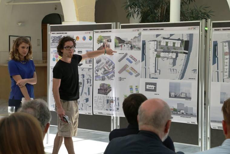 Veszprem 2023 presentation by daniel magyar in austria student years