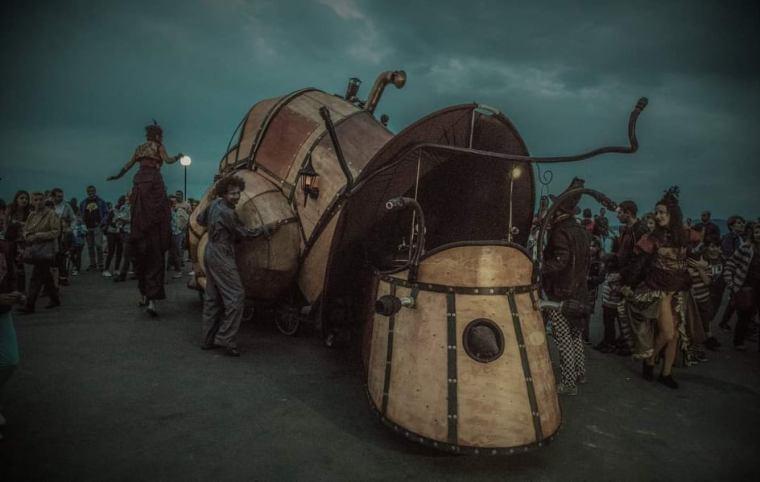 snailmobile fireter