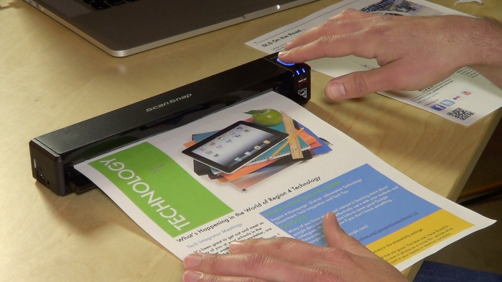 Scanner portabel