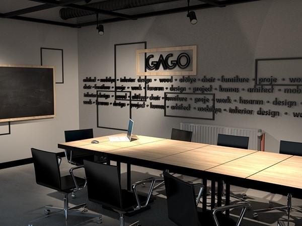 ruang meeting Seperti kafe favorit