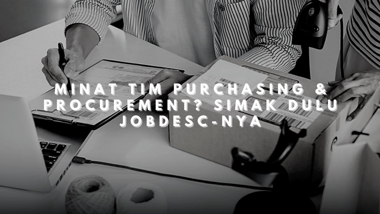 purchasing dan procurement