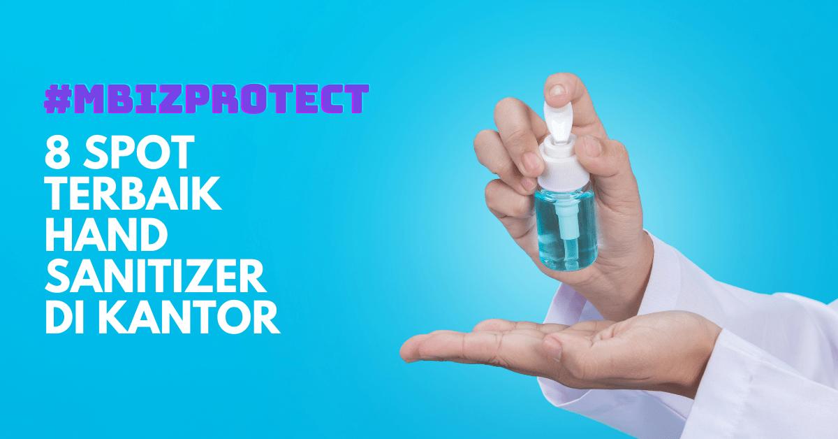 penggunaan sanitizer untuk kantor