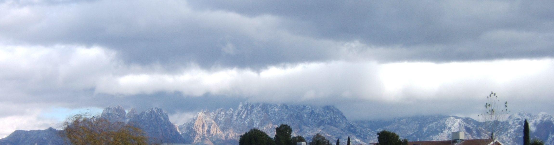 First Snow on Organ Peaks 12/08