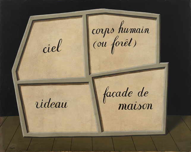 rene magritte, masque vide, insight, coaching, mots