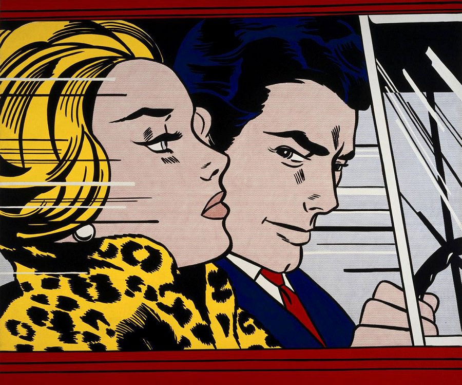 Roy LIECHTENSTEIN - In the Car, art, insight, coaching