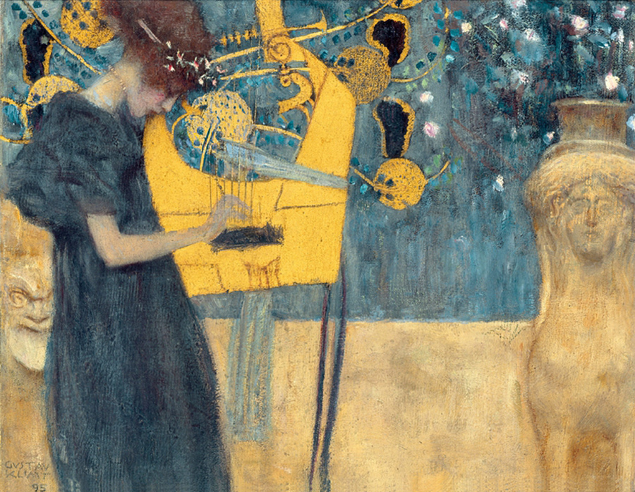 Gustav Klimt, Music, teaching, learning