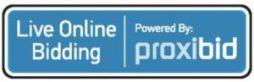 Live online bidding powered by Proxibid