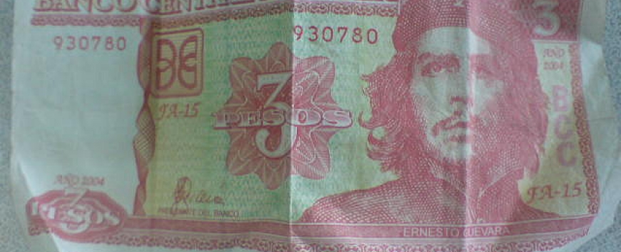 2013 Russia UNC Banknotes 5 pesos Che Guevara convertible