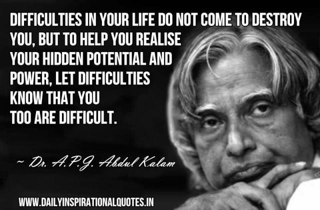Quote by APJ Abdul Kalam