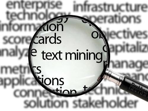 Text mining analytics