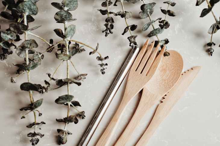 food wood art spoon