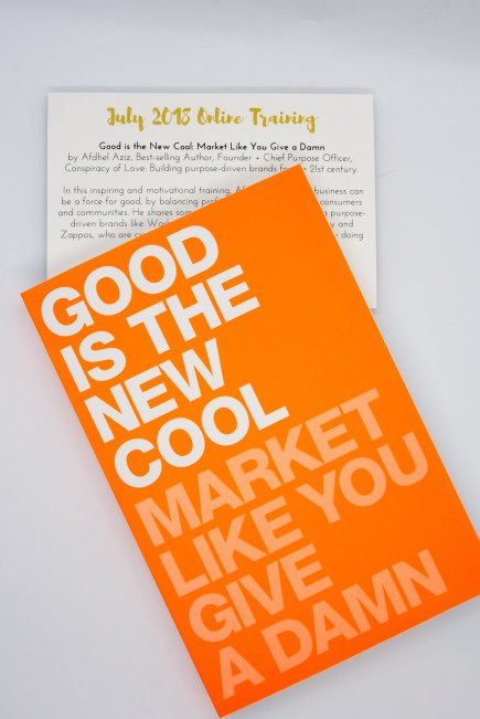 """Book cover of """"Good is the New Cool - Market Like You Give a Damn."""""""