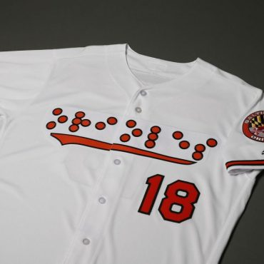 Baltimore Orioles & National Federation of the Blind Debut Braille Jerseys