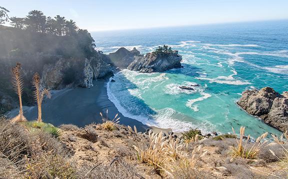 Emerald Waters of Big Sur California