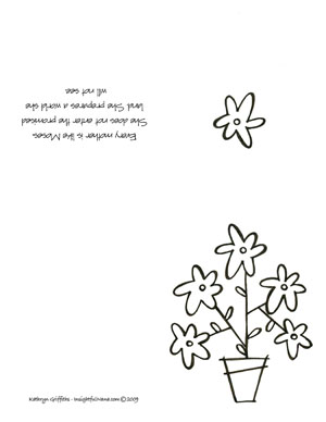 Mother S Day Coloring Cards Mother S Day Coloring Pages Insightful Nana