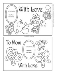 Printable Mother's Day Cards - Mother's Day Cards to Color ...