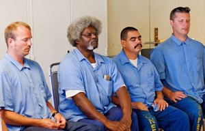 Prisoners meditating