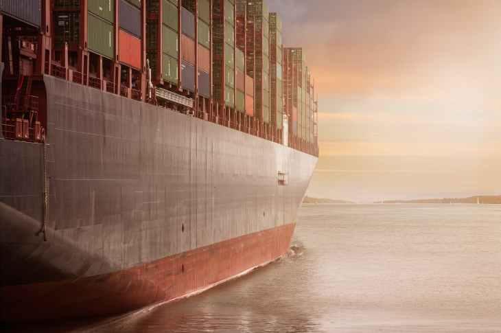 business cargo cargo container city