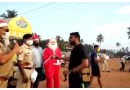 Goa Updates : Cops dressed as Santa create Covid awareness in Goa village