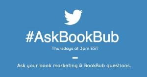 #AskBookBub Twitter Chat