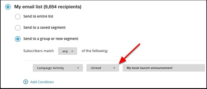 Mailchimp Segmentation