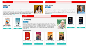 BookBub Author Profiles
