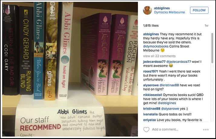 Abbi Glines Instagram