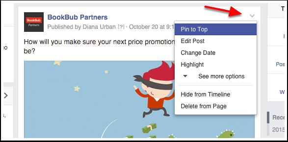 BookBub Partners Facebook